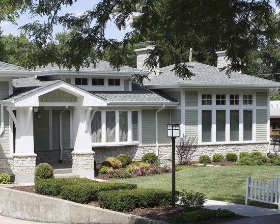 split level house exterior | Split Level Remodel | Floor ...