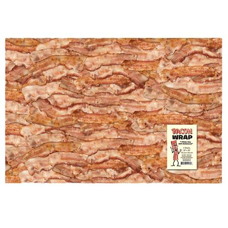 Stupid.com: Bacon Wrapping Paper