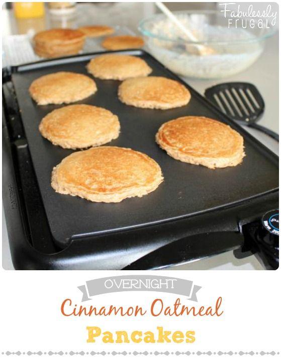 Overnight Cinnamon Oatmeal Pancakes Recipe Cinnamon Oatmeal Pancakes Recipe oatmeal pancakes Cinnamon Oatmeal Pancakes RecipeRead More About This Recipe Click here