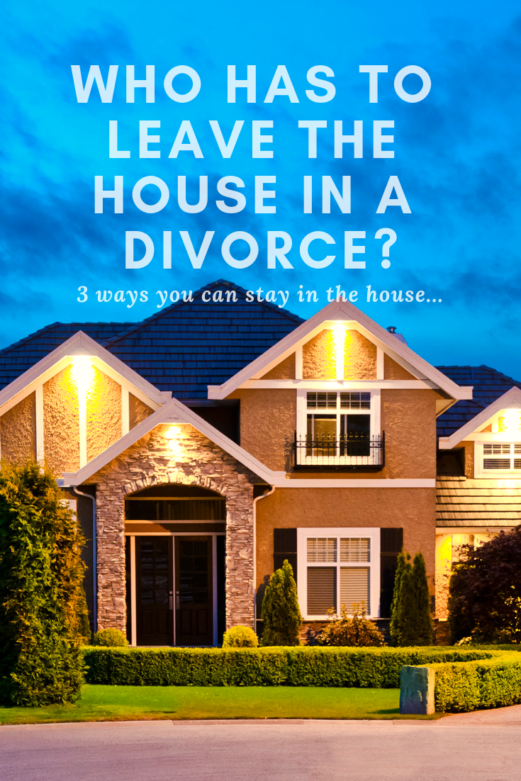 Who has to leave the house in a divorce? (With images