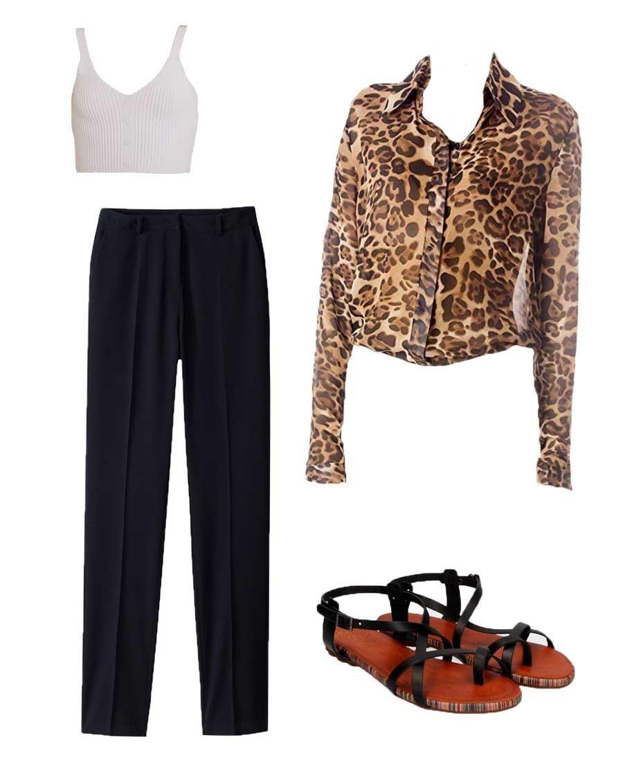 b43bf214e109 Cómo combinar ropa para parecer más delgada de moda verano 2019 ...