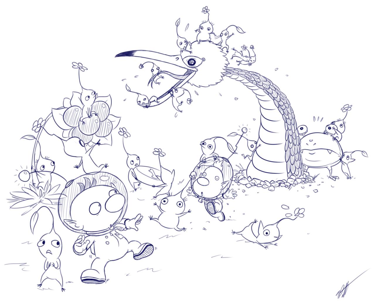 10 Pikmin-Ideen  häkeln, häkelanleitung, stricken und häkeln