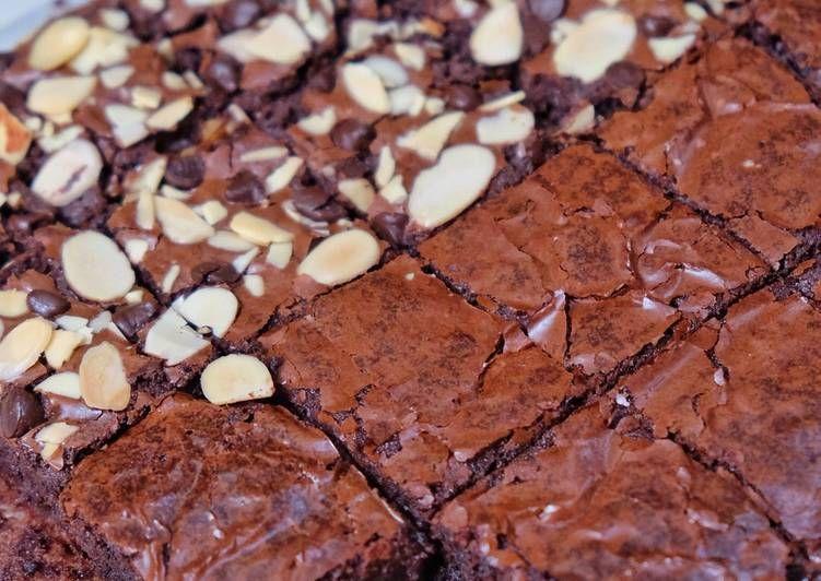 Resep Shiny Crust Brownies Oleh Susi Agung Resep Fudge Brownies Resep Makanan