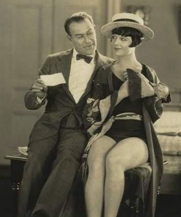 Louise Brooks and Friend