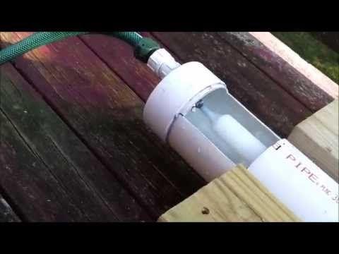 Rain Gutter Grow System Plumbed 6 10 2012 Wmv Youtube Grow System Rain Gutters Hydroponics Diy