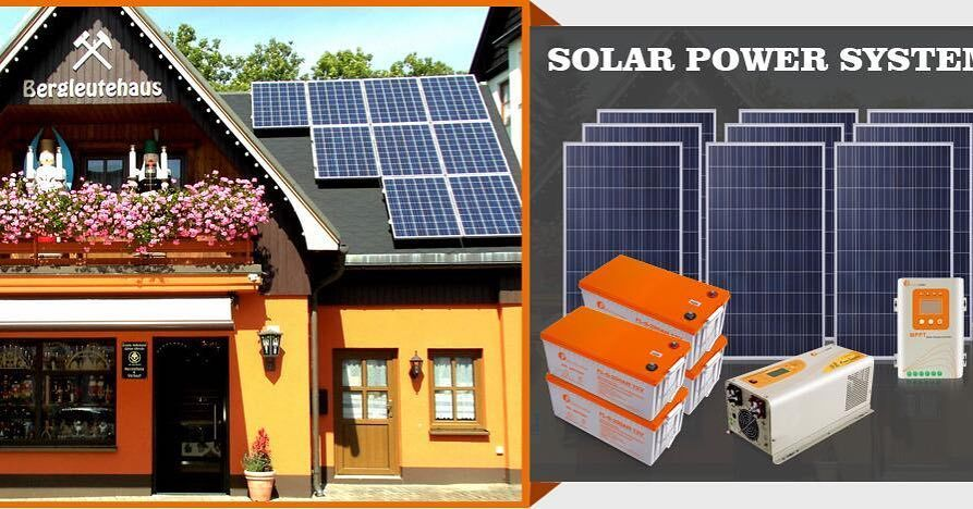 16kw solar power system in