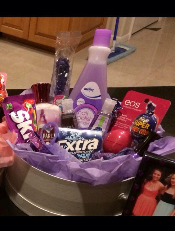 Purple Gift Basket