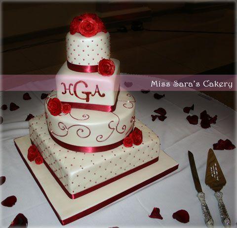 red graduation cake Wedding Miss Saras Cakery a Minneapolis St