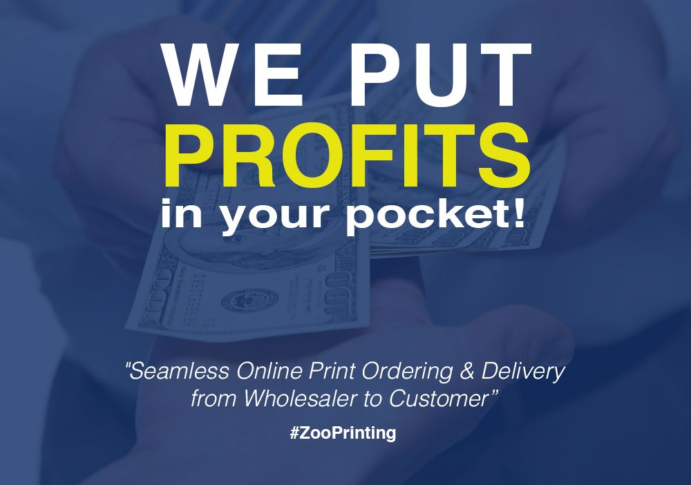 """Join Thousands of Print Re-sellers and Print Brokers Today!  ZOO PRINTING """"Putting Profits in Your Pocket""""  Create Your Free Account Today! http://zooprint.us/6ISkL #Printing #PrintBrokers #GraphicDesigners #WholesalePrinting #ZooPrinting"""
