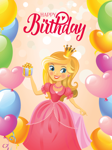 Remarkable Tell The Princess In Your Life Happy Birthday By Sending This Funny Birthday Cards Online Fluifree Goldxyz