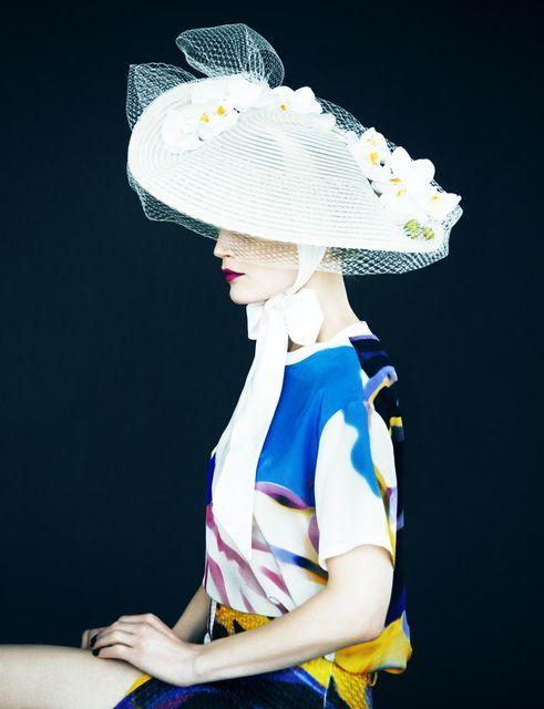 Guinevere van Seenus in 'Portrait of a Lady' by Erik Madigan Heck for Muse #37, Spring 2014.