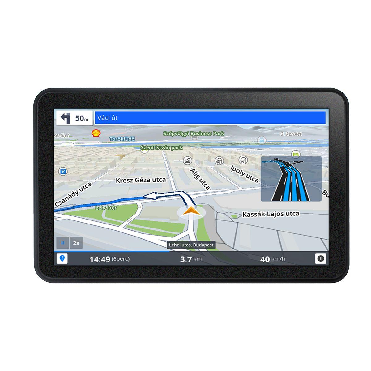 Wayteq X995 Max Android Gps Navigacio Sygic 3d Europa Terkep