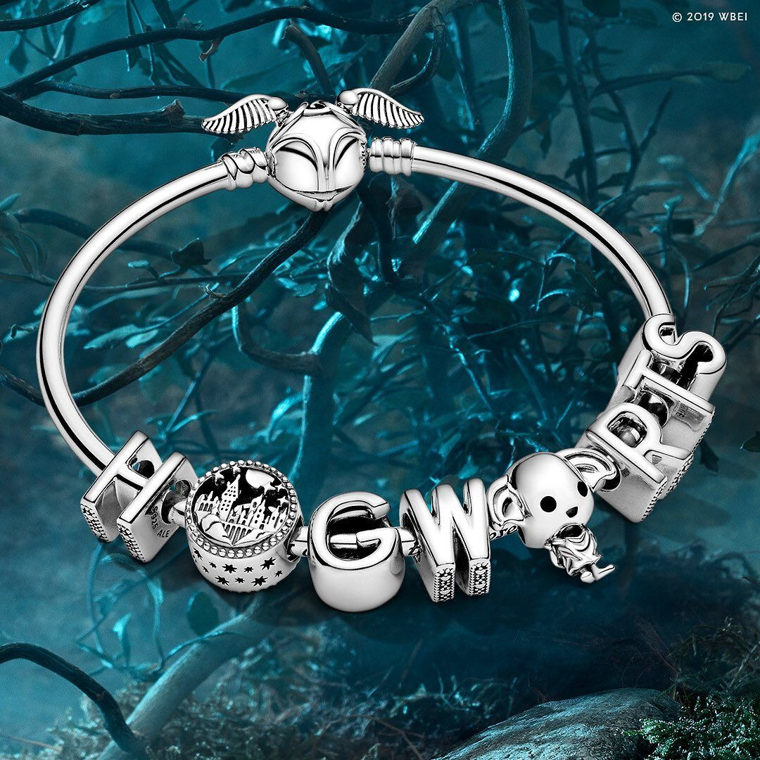 """Pandora on Instagram: """"Take your Harry Potter charm collection to ..."""