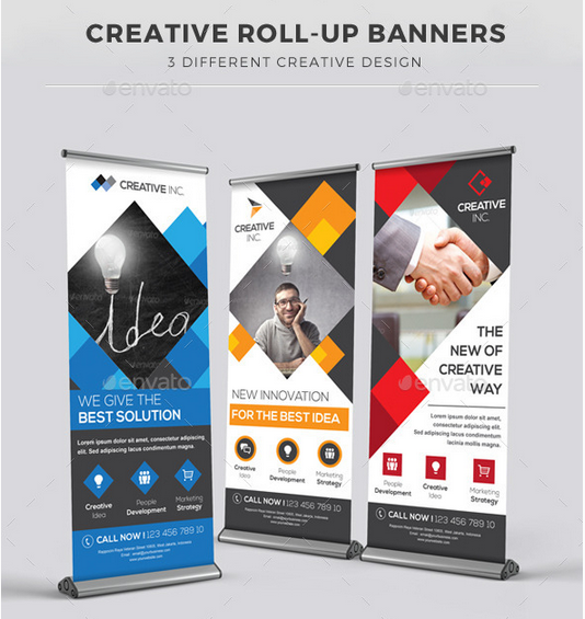 corporate kakemono design communication and graphic design pinterest print design design