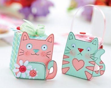 Cat Motifs & Gift Box Templates - Free Card Making Downloads | Card Making | Digital Craft – Crafts Beautiful Magazine