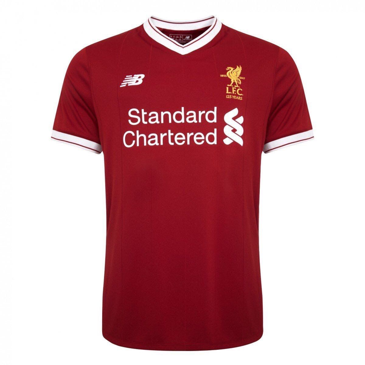 A limited edition version of Liverpool FC's 2017-18 away shirt has been  released to mark the club's 125th anniversary.   Kit launch 2017-2018    Pinterest ...