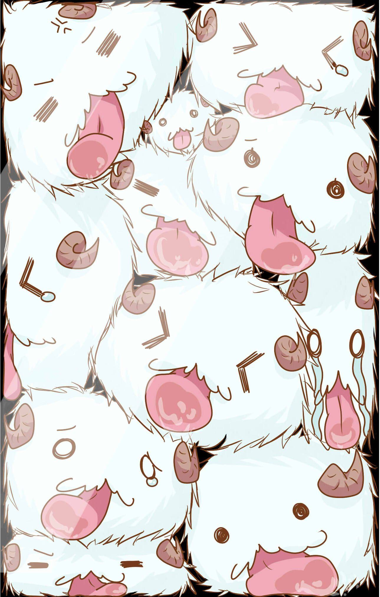 Poros! I love these little guys~ they are toooo cute and adorable ❤️ honestly I want one to be with me everyday lol