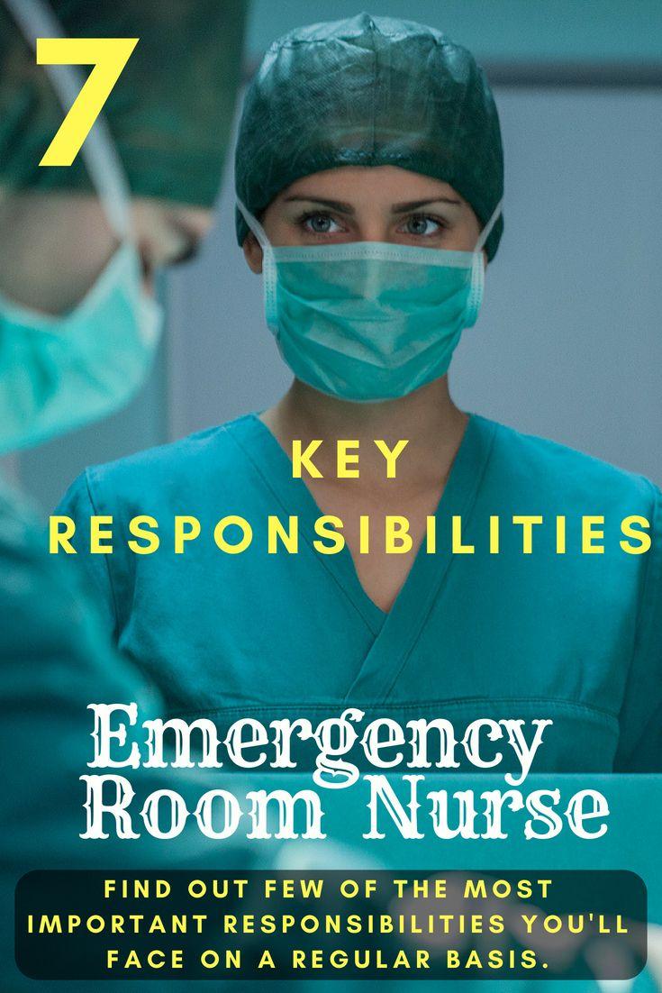 Emergency room nurse salary job description and duties