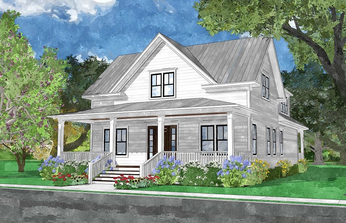 Pearl Street Cottage Coastal Home Plans Country House Plan Cottage House Plans Dream House Decor