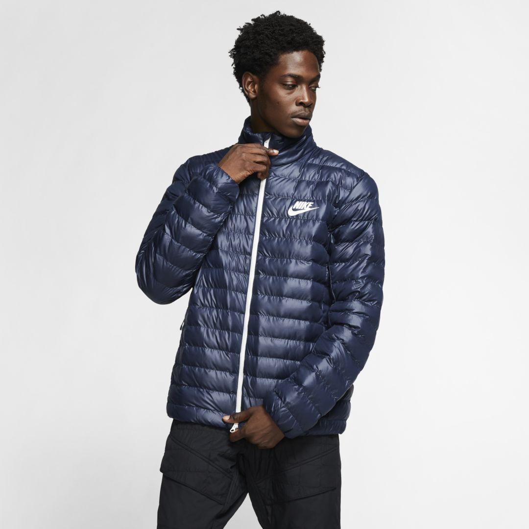 Nike Sportswear Synthetic Fill Puffer Jacket Obsidian Source By Jumpman23 Teenager Outfits Cute Nike Sportswear Sportswear Puffer Jackets [ 1080 x 1080 Pixel ]