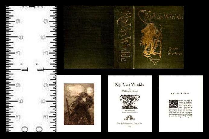 1:12 SCALE MINIATURE BOOK TOM THUMB PRE 1900 DOLLHOUSE SCALE