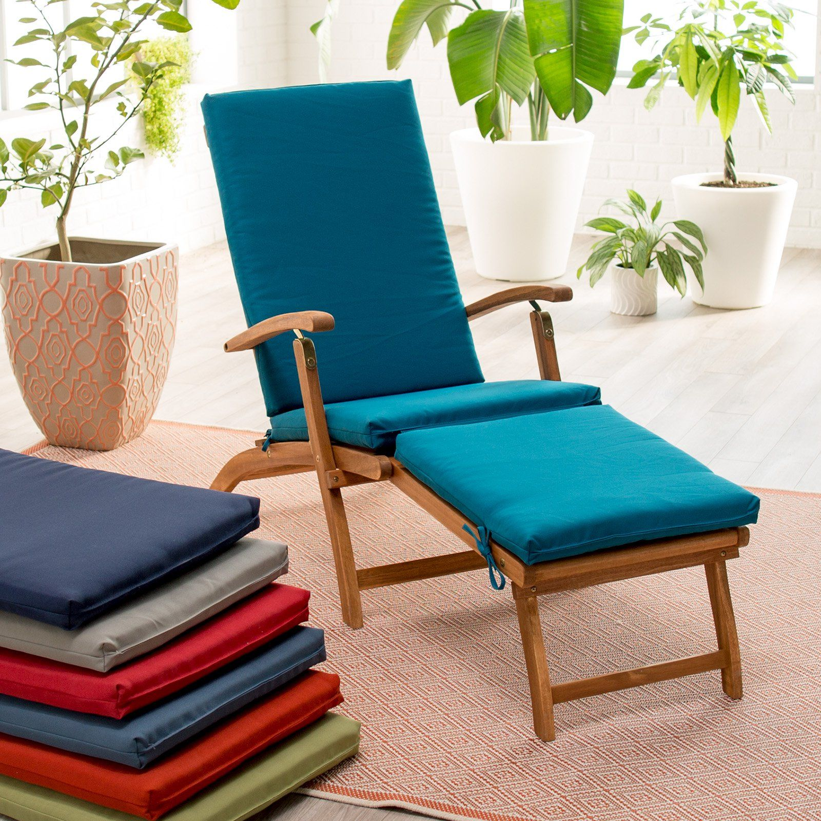 coral coast classic 69 x 19 5 in steamer chaise lounge cushion