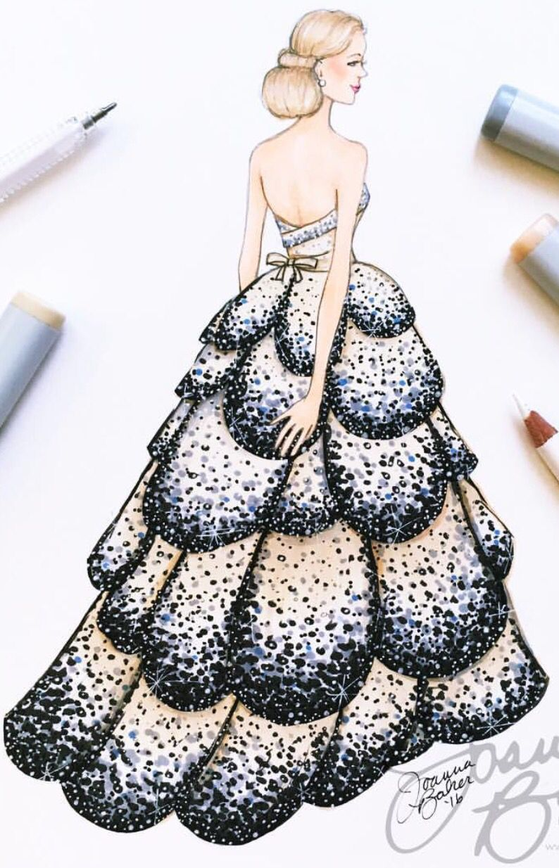 Joannabaker Be Inspirational Mz Manerz Being Well Dressed Is A B Fashion Illustration Dresses Fashion Illustration Sketches Dresses Dress Design Sketches