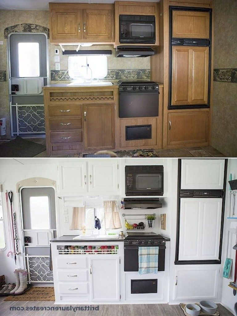 50+ Amazing Camper Remodel Ideas for Renovating RV Travel Trailers - Page 3 of 54 -  50+ Amazing Ca