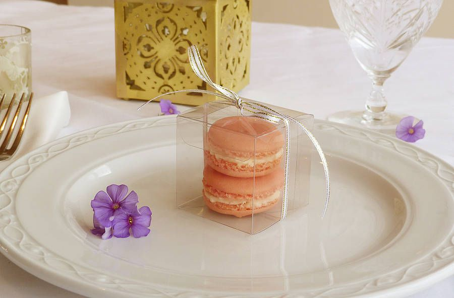 Ten Macaron Wedding Favours from