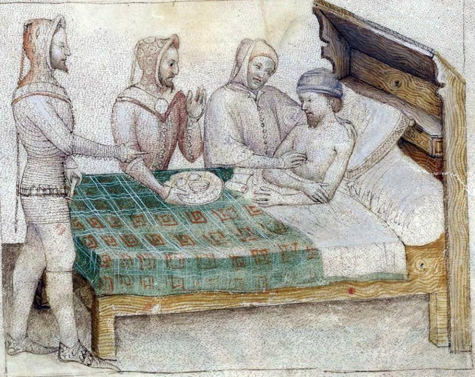 BNF Nouvelle acquisition française 5243  Guiron le Courtois 1370-1380 f66r , Italy