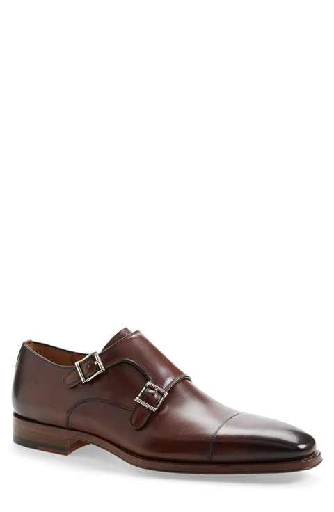 Saks Fifth AvenueCOLLECTION BY MAGNANNI Two-Tone Double Monk Shoes C9WI0ch2t