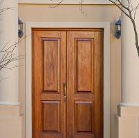 طريقة تنظيف الابواب الخشب البنيه Wooden Doors Tall Cabinet Storage Decor