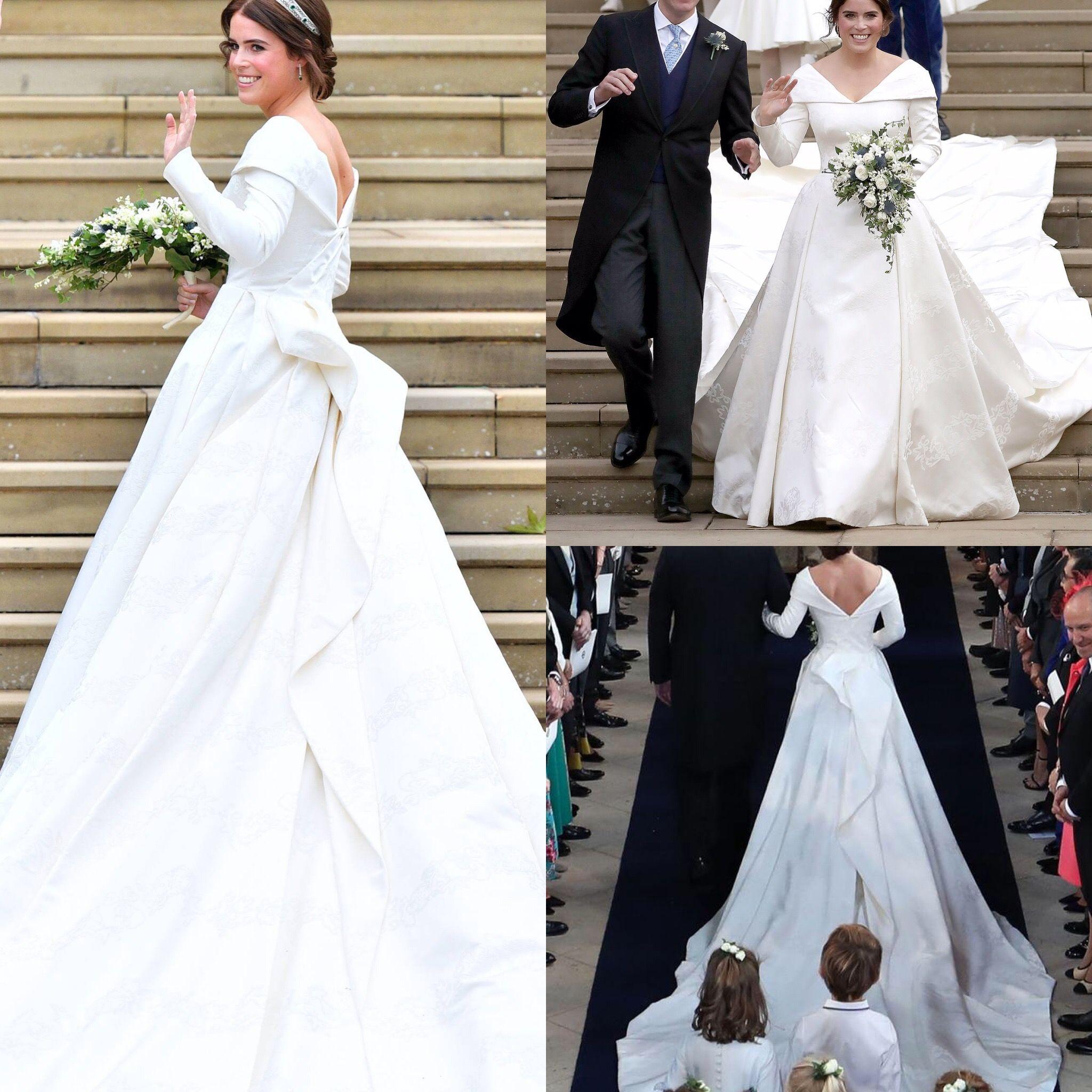 Princess Eugenie Of York This Dress Is Amazing Dream Wedding Dresses Wedding [ 2048 x 2048 Pixel ]