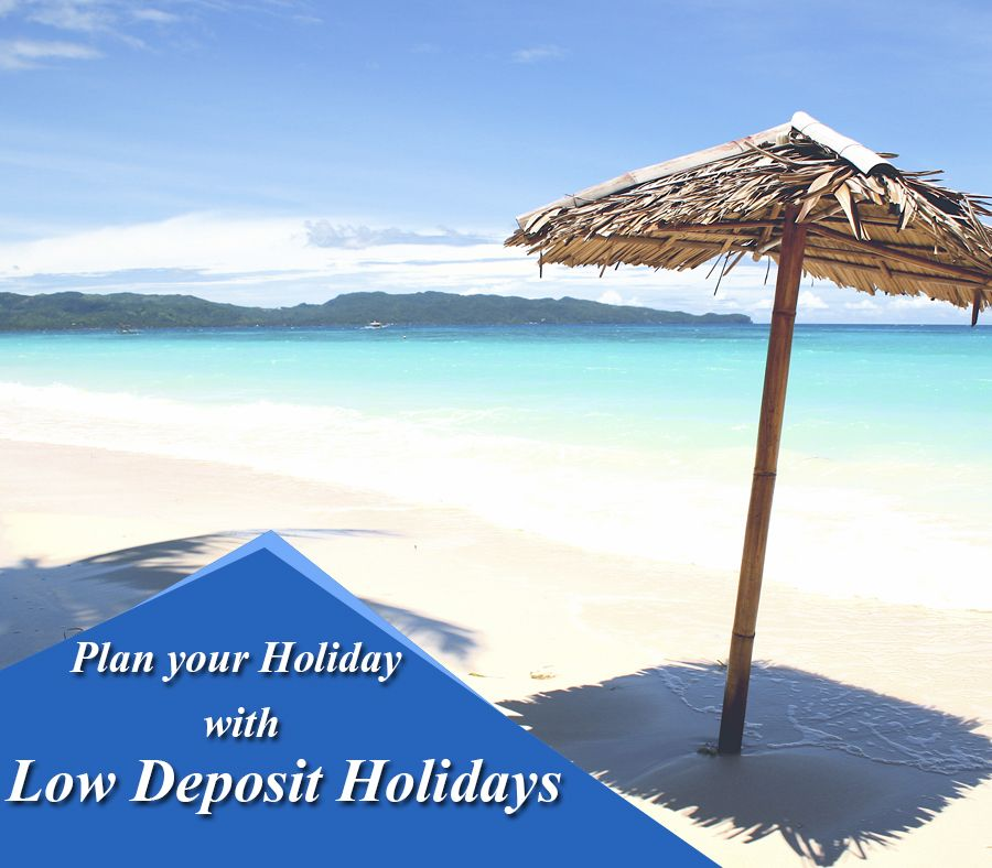 Low Deposit Holiday Deals