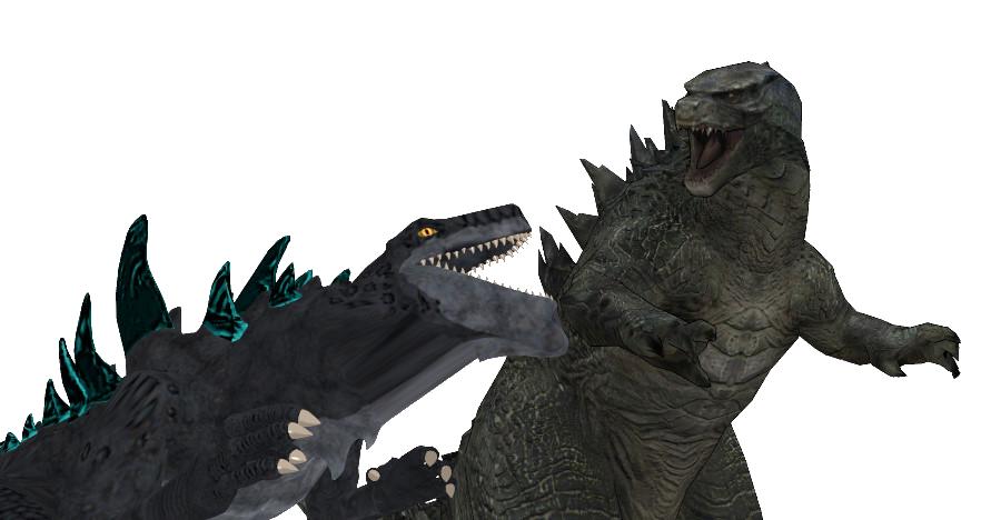 Godzilla 2014 Vs Godzilla 1998 Aka Zilla Godzilla 1998 Godzilla Godzilla 2014