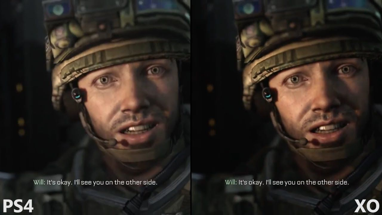 Call Of Duty Advanced Warfare Xbox One Vs Ps4 Performance