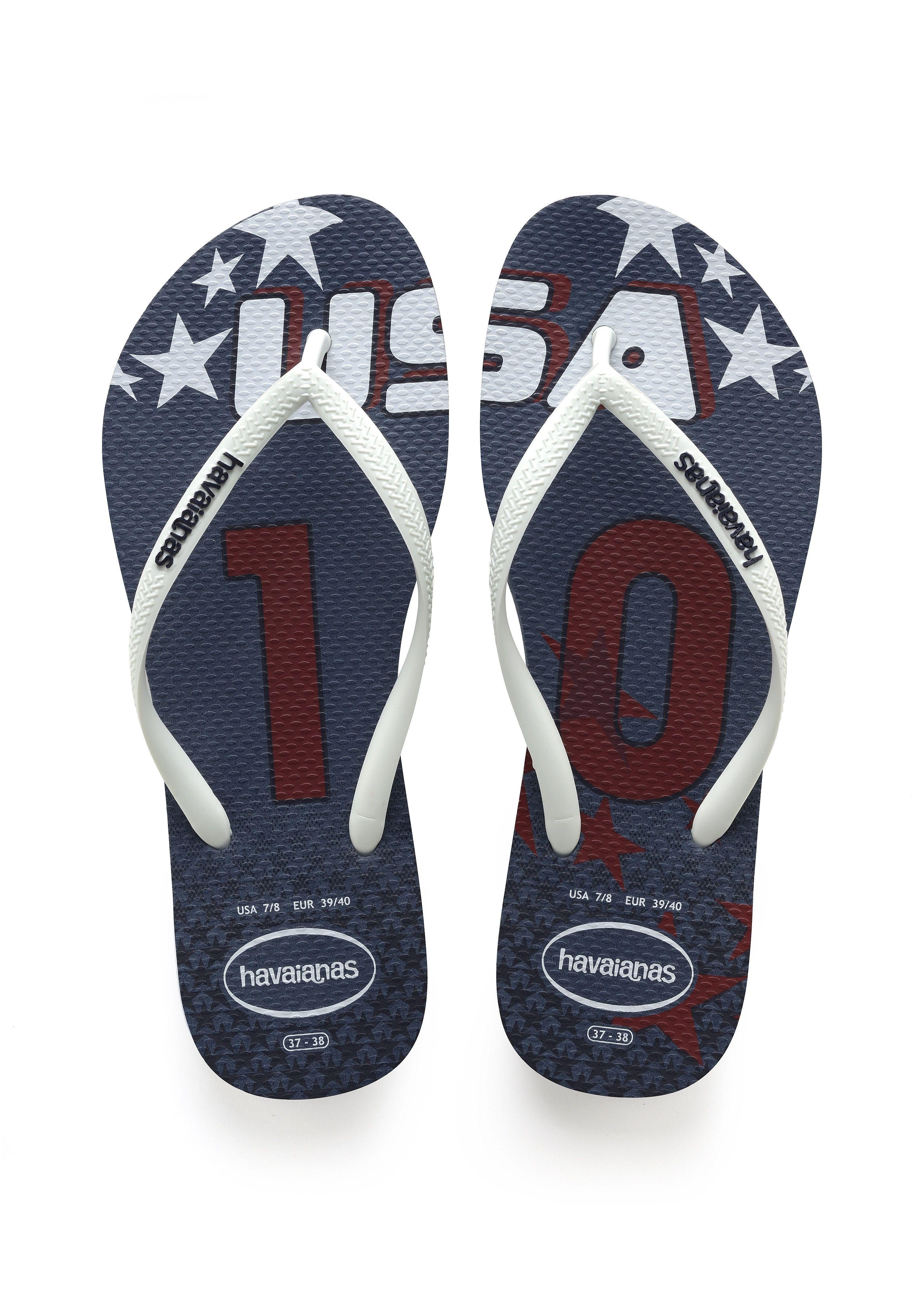 d6c79a4a54e1ac Havaianas Slim Teams Sandal Indigo Blue Price From  35