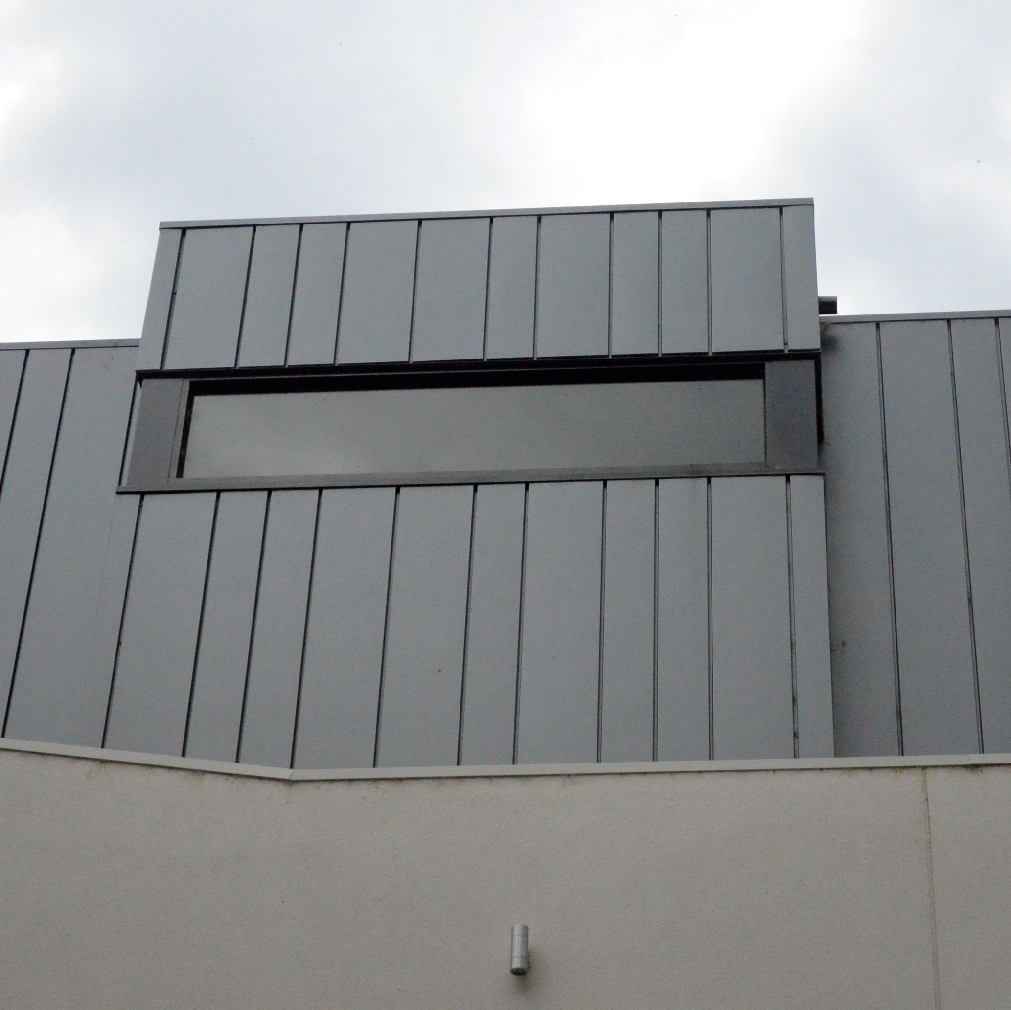 Design Cladding We Install A Range Of Metal Cladding Systems Using Zinc Copper Aluminium