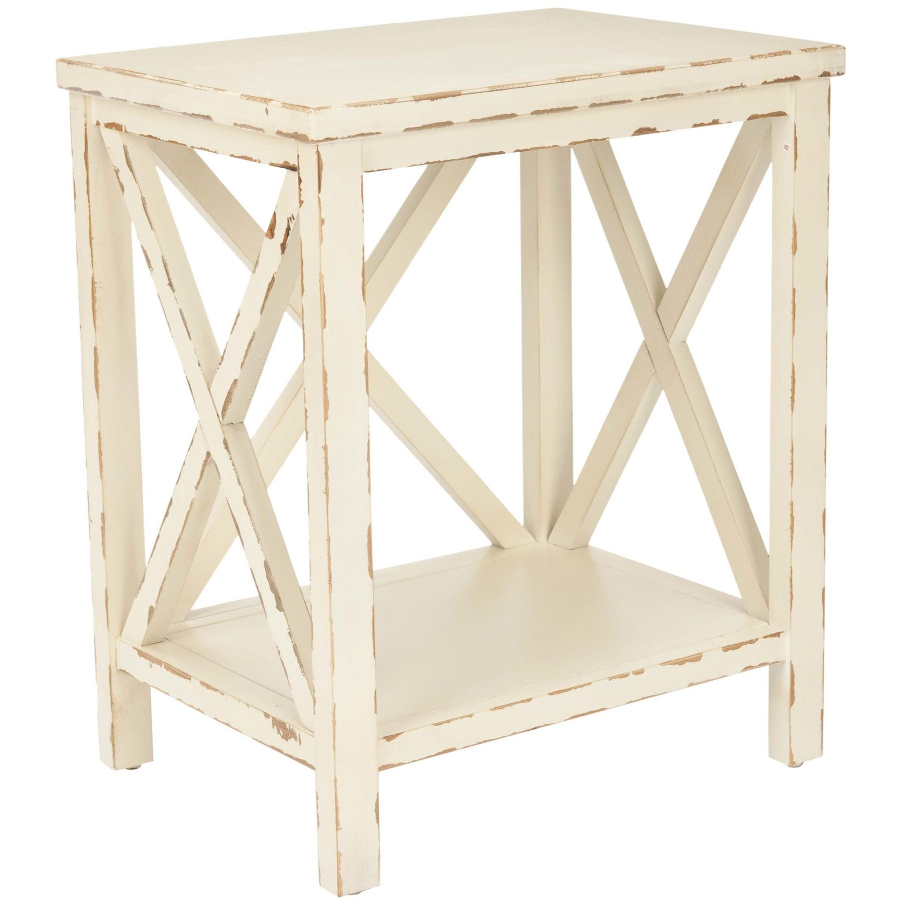 Safavieh American Home Mia End Table, Beige