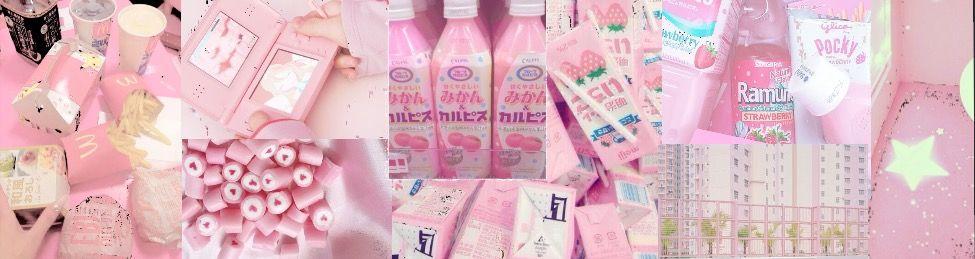 Header Rosa Pastel Para Twittertumblr Pastel Pink Header For