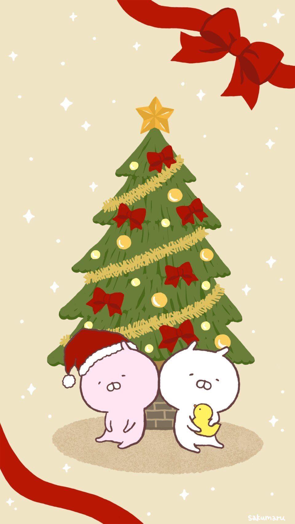 うさまる おしゃれまとめの人気アイデア Pinterest じぃ クリスマス壁紙 うさまる イラスト うさまる 壁紙