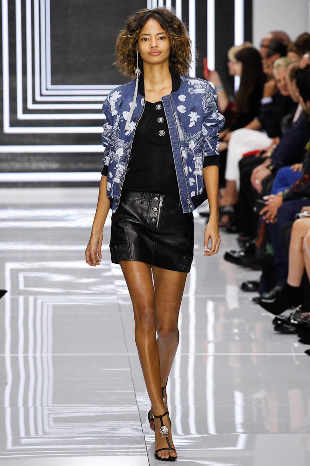 See the Versus spring/summer 2016 collection. Click through for full gallery at vogue.co.uk