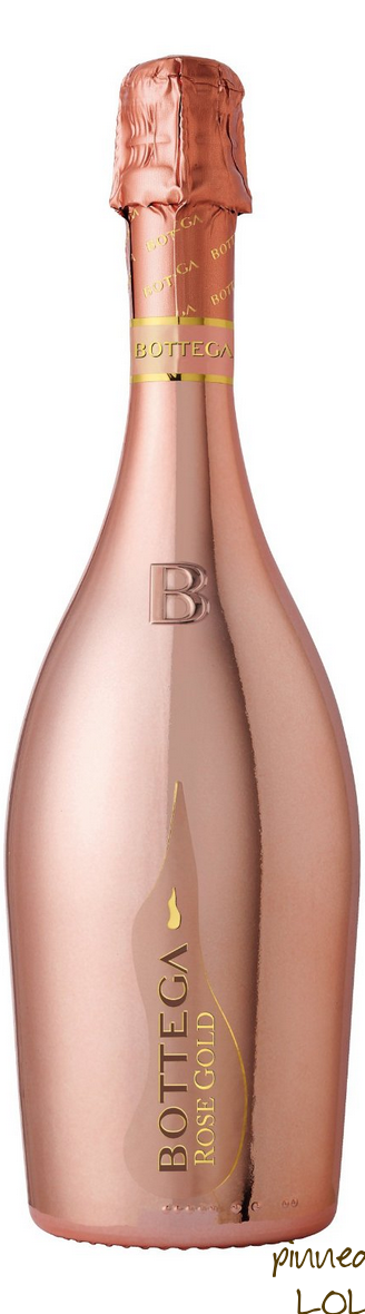 Bottega Rose Gold Pinot Vino Spumante Brut