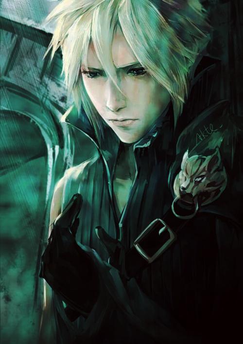 Ffvii Final Fantasy Vii Advent Children Cloud Strife Fan Art