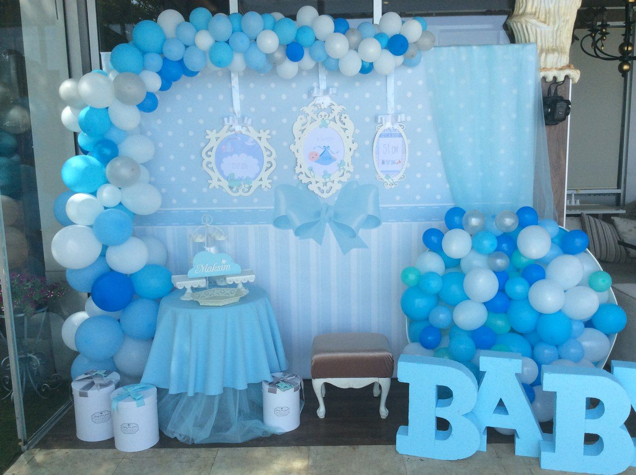 ирина унгарова Baby Shower Balloons Baby Shower Backdrop