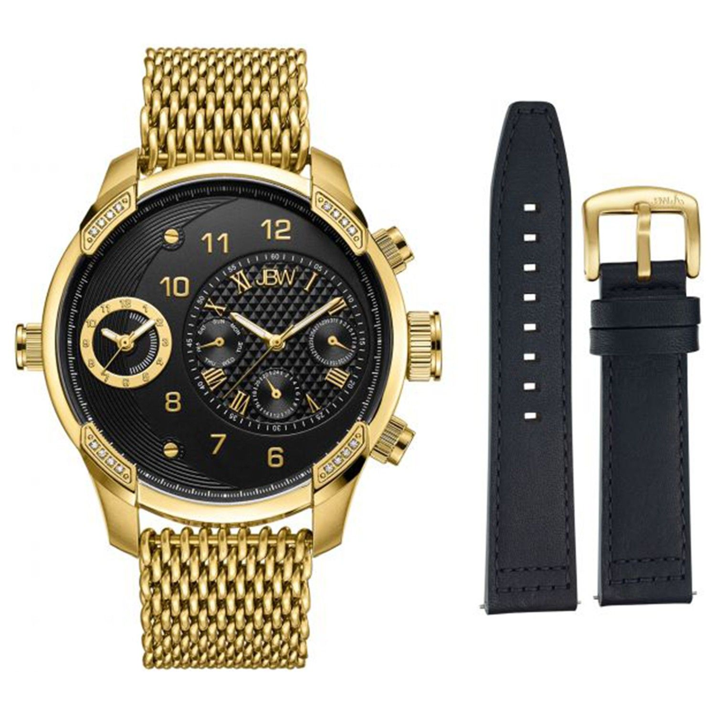 Plasmalift Plasma Soft Surgery Gold Plated Watch Mens Gold Bracelet Watch
