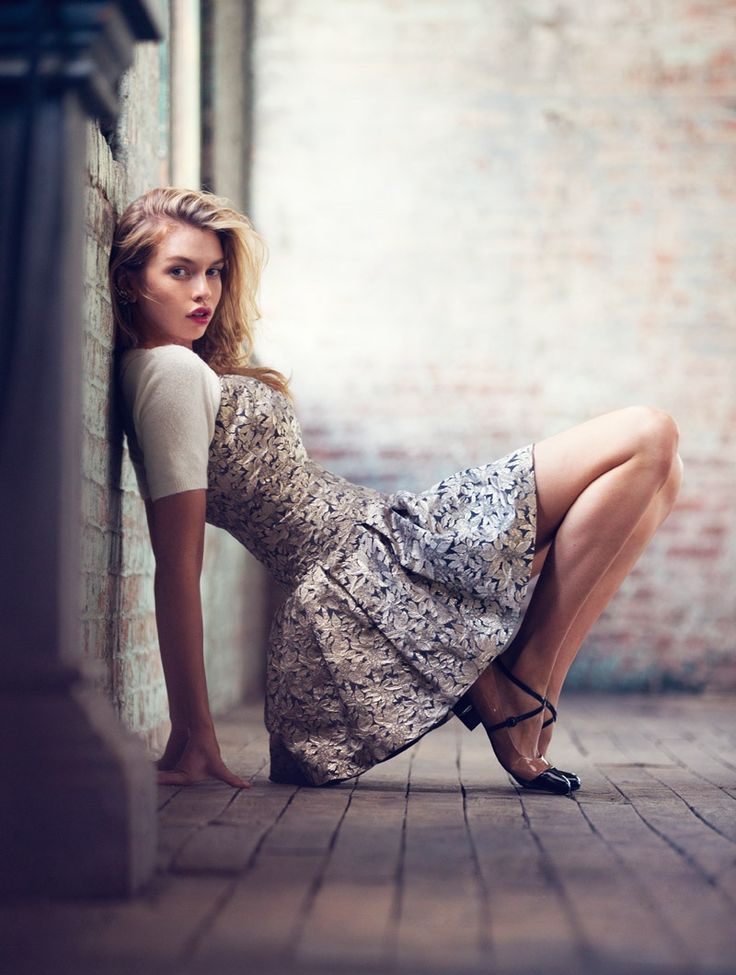 Stella Maxwell Wears Dreamy Dresses for Urban Outfitters' Holiday Story - Fitness shoot - #dreamy #d...