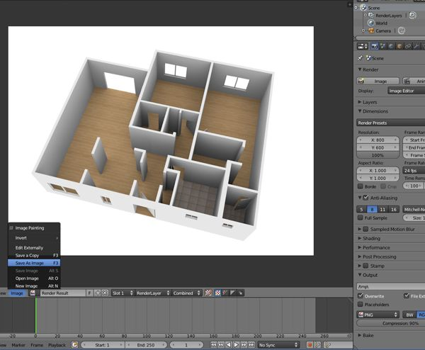 Create A 3d Floor Plan Model From An Architectural Schematic In Blender Motion Graphics Tutorial Blender Tutorial Floor Plans