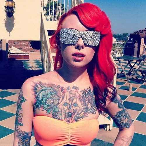 be2dd0581 Megan Massacre. One of my favorite tattoo artists! <3 Ny Ink,