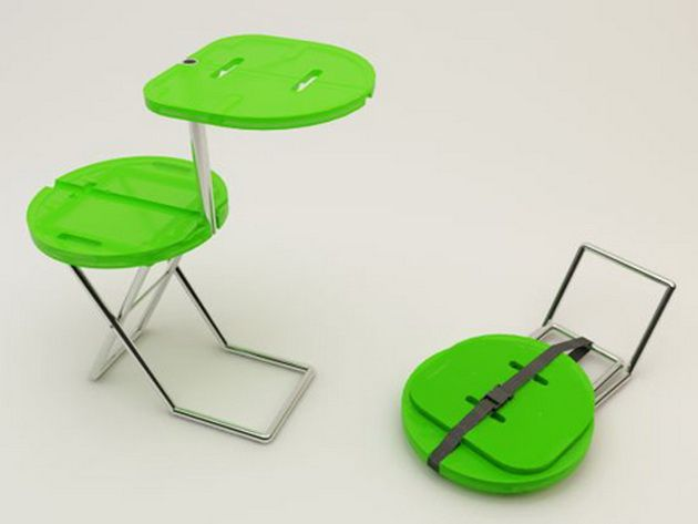 CampingChairTable Camping Chair Table: Folding Chair And Table All In One